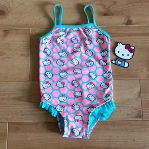 Hello Kitty Sweet Dreams Ruffle Swimsuit
